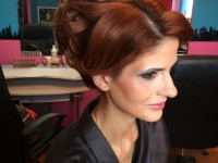coiffure chignon libanaise orientale strasbourg alsace mariage