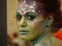 maquilleuse coiffeuse bodypainting alsace mulhouse strasbourg maquillage airbrush