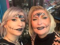 animation-evenement-comercial-maquillage-halloween-hotesse